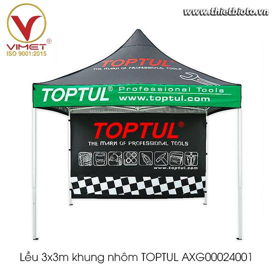 Lều 3x3m khung nhôm TOPTUL AXG00024001