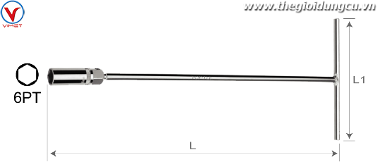 Tuýp T mở bugi 16x450mm