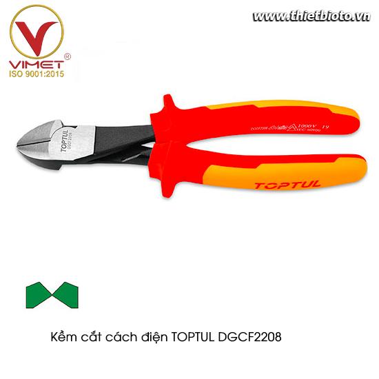 Kềm cắt cách điện TOPTUL DGCF2208