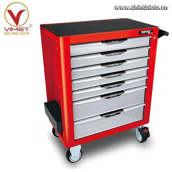 Tủ đồ nghề 7 ngăn 308 chi tiết Toptul GE-30818