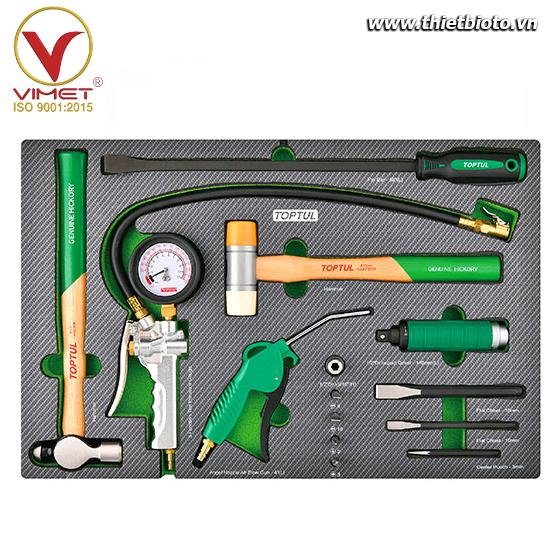 Khay dụng cụ cầm tay 16 chi tiết Toptul GED1650