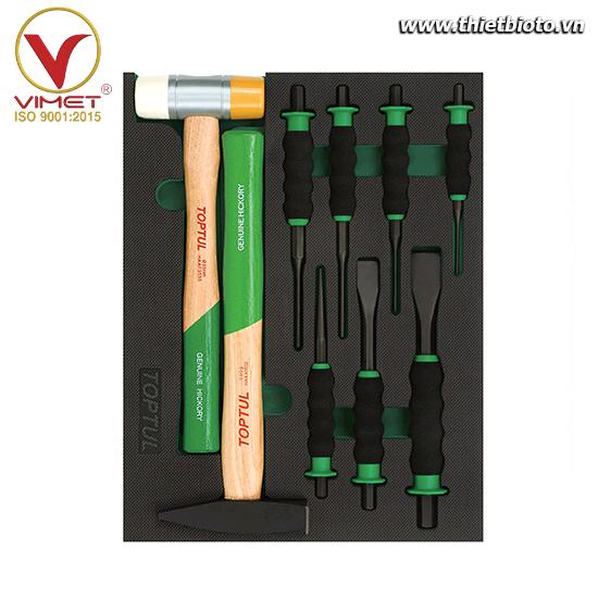 Khay dụng cụ cầm tay 9 chi tiết Toptul GVB0905