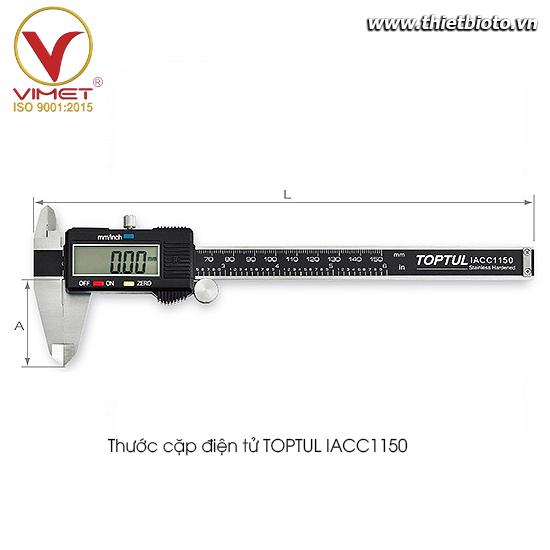 Thước cặp điện tử TOPTUL IACC1150