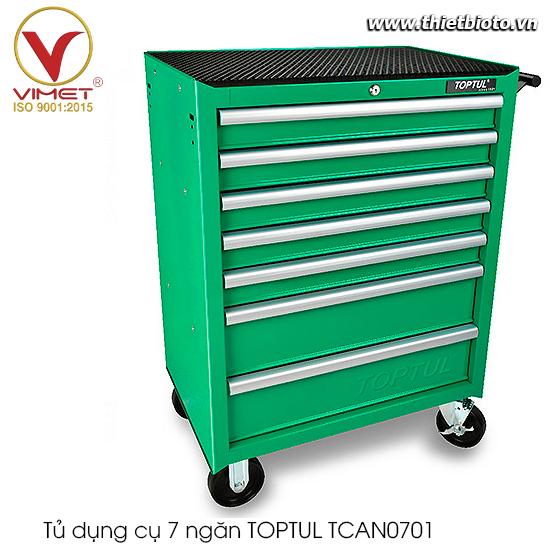Tủ dụng cụ 7 ngăn TOPTUL TCAN0701