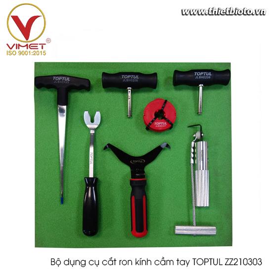 Bộ dụng cụ cắt ron kính cầm tay TOPTUL ZZ210303