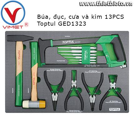 Bộ đồ nghề 13 chi tiết Toptul GED1323
