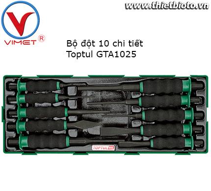 Bộ đột 10 chi tiết Toptul GTA1025