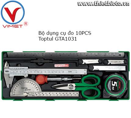 Bộ dụng cụ đo 10 chi tiết Toptul GTA1031