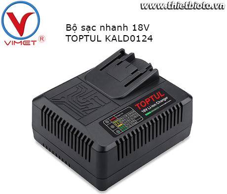 Bộ sạc nhanh 18V Toptul KALD0124