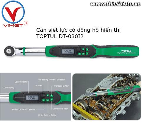 Cần siết lực có đồng hồ Toptul DT-030I2