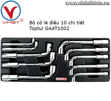 Bộ tuýp ống điếu 10 chi tiết Toptul GAAT1002