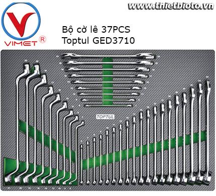 Bộ cờ lê vòng miệng 37 chi tiết Toptul GED3710