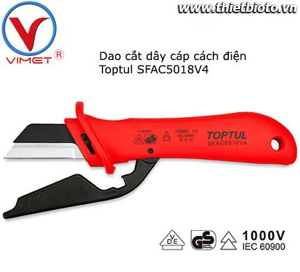 Dao cắt cáp cách điện dạng lưỡi thẳng SFAC5018V4