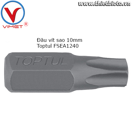 Đầu vít sao 10mm Toptul FSEA1240