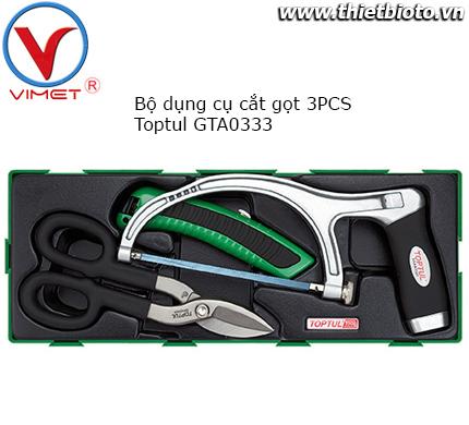 Bộ dụng cụ cắt gọt 3 chi tiết Toptul GTA0333
