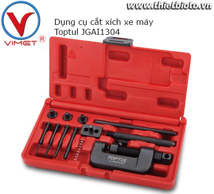 Bộ dụng cụ cắt xích xe máy Toptul JGAI1304