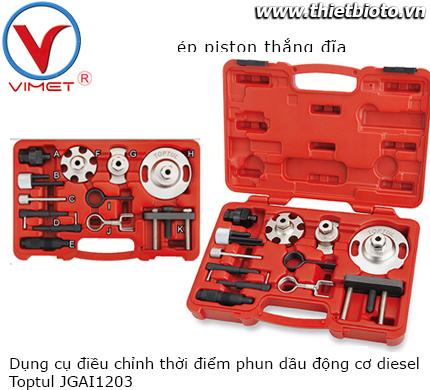 Bộ dụng cụ điều chỉnh cơ cấu thời điểm phun dầu động cơ diesel Toptul JGAI1203