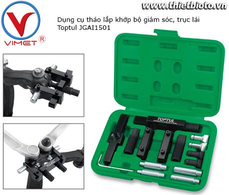 Bộ dụng cụ tháo lắp khớp bộ giảm sóc, trục lái Toptul JGAI1501