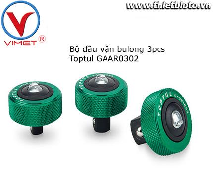 Bộ đầu vặn bulong bằng tay 3pcs Toptul GAAR0302