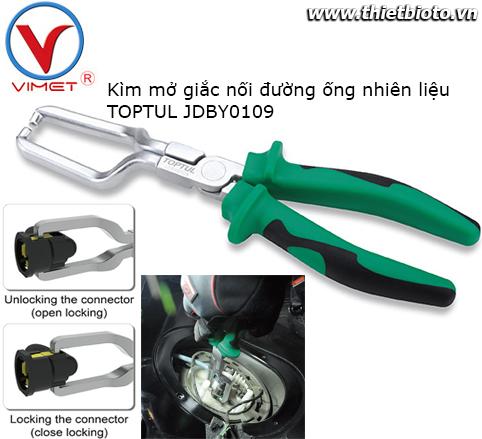 Kìm mở giắc nối ống nhiên liệu Toptul JDBY0109