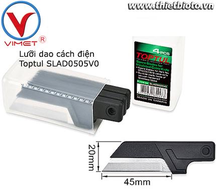 Lưỡi dao cách điện 4pcs Toptul SLAD0505V0