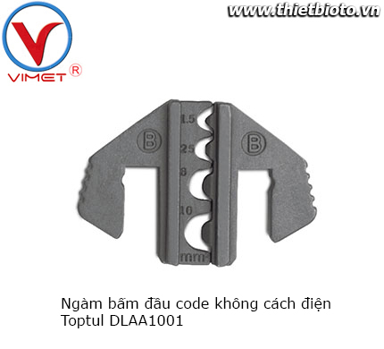 Ngàm bấm đầu code không cách điện Toptul DLAA1001