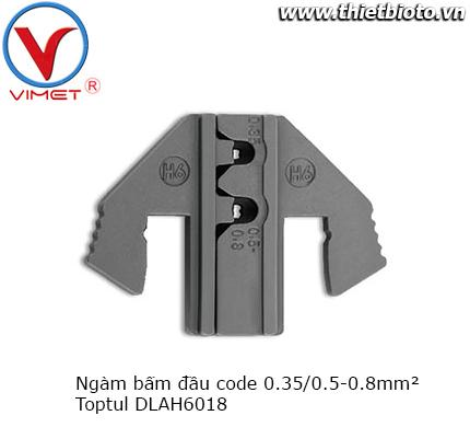Ngàm bấm đầu code Toptul DLAH6018