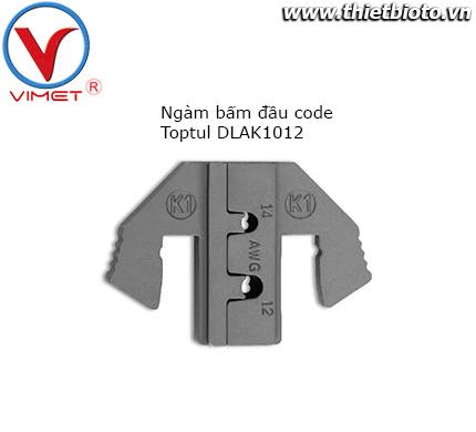 Ngàm bấm đầu code Toptul DLAK1012