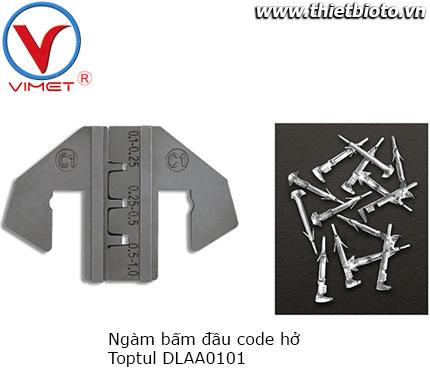 Ngàm bấm đầu code hở Toptul DLAA0101