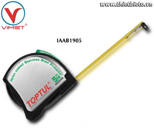 Thước dây Thép 5mx19mm Toptul IAAB1905