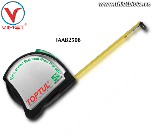 Thước dây Thép 8mx25mm Toptul IAAB2508