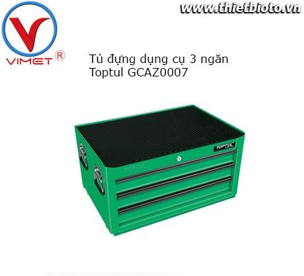 Tủ dụng cụ 3 ngăn104PCS Toptul GCAZ0007