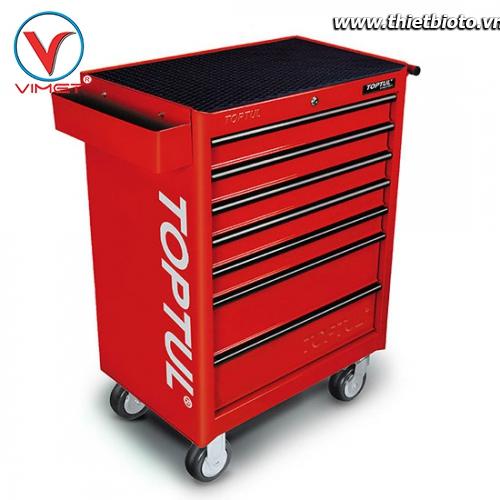 Tủ đồ nghề 7 ngăn 275 chi tiết Toptul GCAJ0035