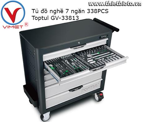 Tủ đồ nghề 7 ngăn 338pcs Toptul GV-33813