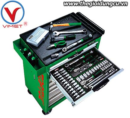 Tủ đồ nghề sửa chữa 7 ngăn 283pcs Toptul GT-28307