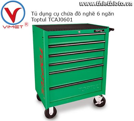 Tủ dụng cụ 6 ngăn Toptul TCAJ0601