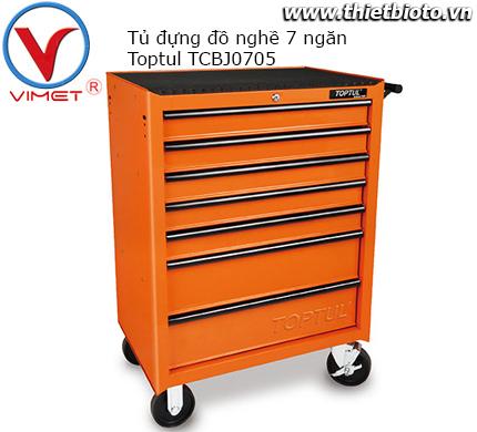 Tủ đựng đồ nghề 7 ngăn Toptul TCBJ0705