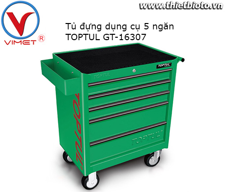 Tủ đồ nghề 5 ngăn Toptul GT-16307