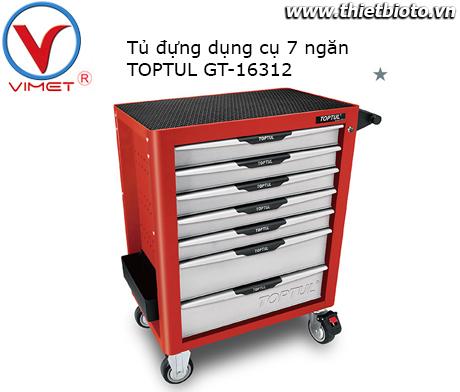 Tủ đựng dụng cụ 7 ngăn 163PCS Toptul GT-16312