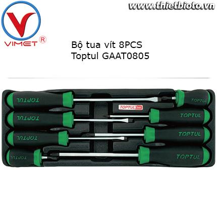 Bộ tua vít 8 chi tiết Toptul GAAT0805