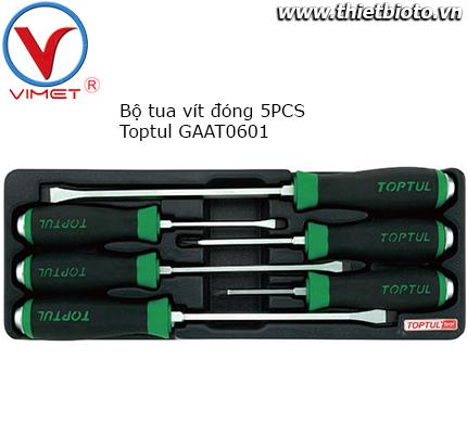 Bộ tua vít đóng 6 chi tiết Toptul GAAT0601