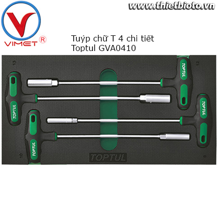 Bộ tuýp chữ T 4 chi tiết GVA0410